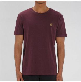 Camiseta Atlas: Okendo Tee (Heather Grape Red)