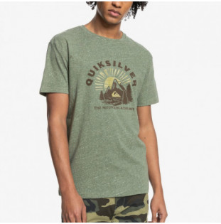 Camiseta Quiksilver: Mountain Side SS (Four Leaf Clover Hea)