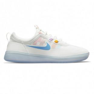 Zapatillas Nike: Nyjah Free 2 (Sum Wht Cst Pink Salt Lilac)