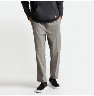Pantalón Brixton: Steady Cinch Taper X Pant (Grey Plaid)