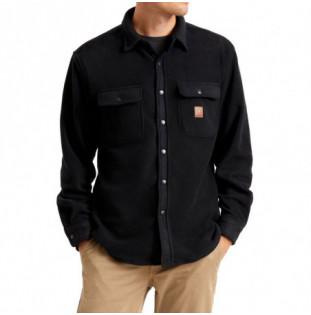 Camisa Brixton: Bowery LS Fleece (Black) Brixton - 1