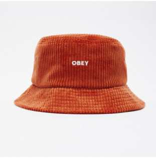 Gorro Obey: Bold Cord Bucket Hat (Ginger)