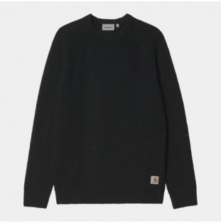 Jersey Carhartt: Anglistic Sweater (Speckled Black)