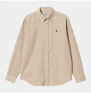 Camisa Carhartt: LS Madison Cord Shirt (Wall Black) Carhartt - 1