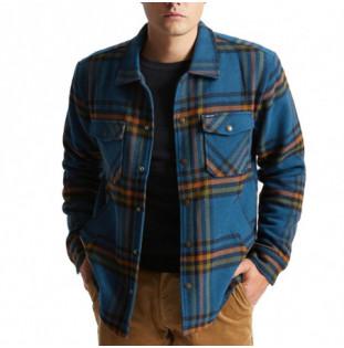 Chaqueta Brixton: Bowery Lined Jacket (Marine Blue)