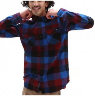 Camisa Vans: Box Flannel (Pomegranate Nautical Blue)