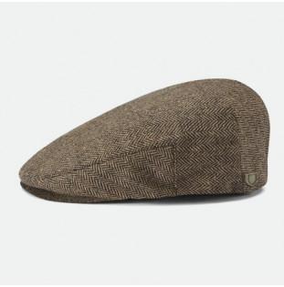 Gorra Brixton: Hooligan Snap Cap (Brown Khaki)