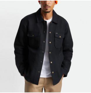 Chaqueta Brixton: Bowery Lined Jacket (Black)