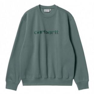 Sudadera Carhartt: Carhartt Sweat (Eucalyptus Frasier)