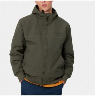 Chaqueta Carhartt: Hooded Sail Jacket (Cypress Black)