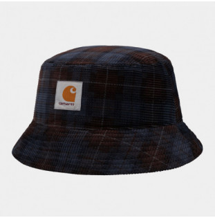Gorro Carhartt: Cord Bucket Hat (Brk Check Print Tobacco)