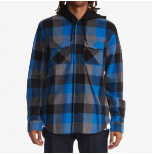 Camisa DC Shoes: Ruckus Flannel (Turkish Sea Check)