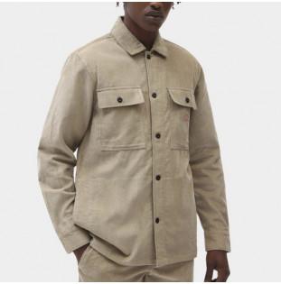 Camisa Dickies: Higginson Shirt LS (Khaki) Dickies - 1