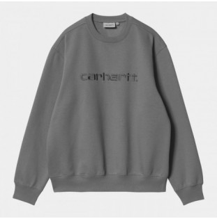 Sudadera Carhartt: Carhartt Sweat (Shiver Blacksmith)