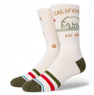Calcetines Stance: California Republic 2 (Off White)