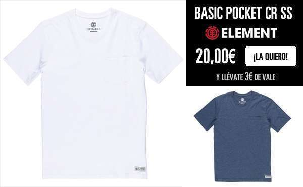 Camiseta Basic Pocket Element