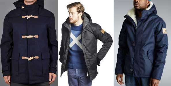 Duffle coat, Field jacket y Original Raglan Parka de Makia