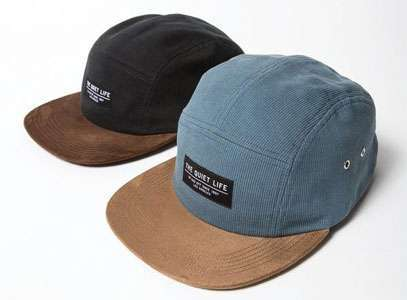 Gorras Cord Combo 5 panel Camper de The Quiet Life