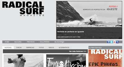 Radical Surf Web