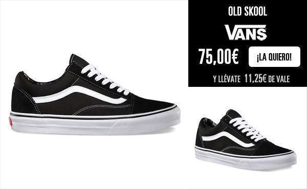Zapatillas Old Skool de Vans unisex