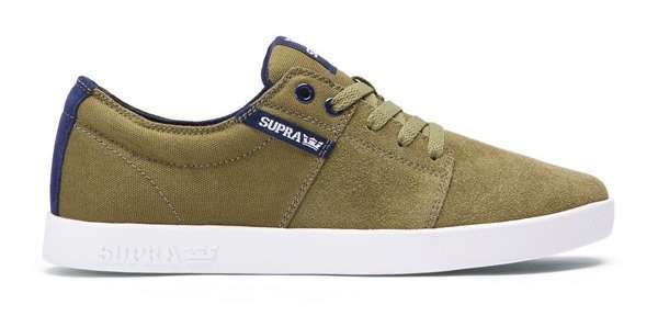 Zapatillas Supra Stacks II (Olive Navy White)