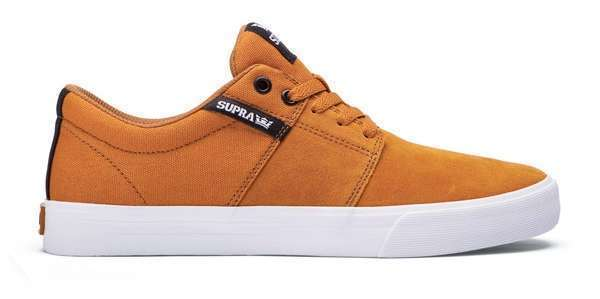 Zapatillas Supra Stacks Vulc II (Cathay Spice Khaki White)
