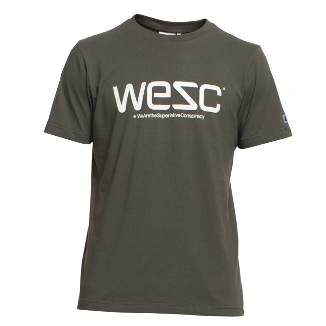 WESC: WESC TEE SS (FOREST NIGHT)