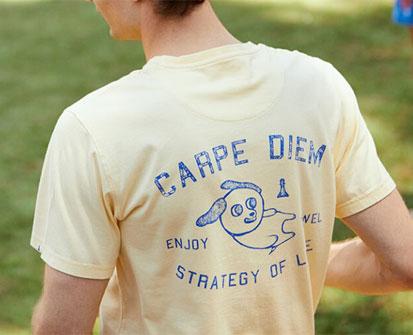 Camiseta Diem de Tiwel